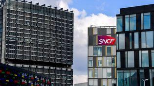 La direction régionale de la SNCF à Lille (Nord), le 26 février 2018. (PHILIPPE HUGUEN / AFP)