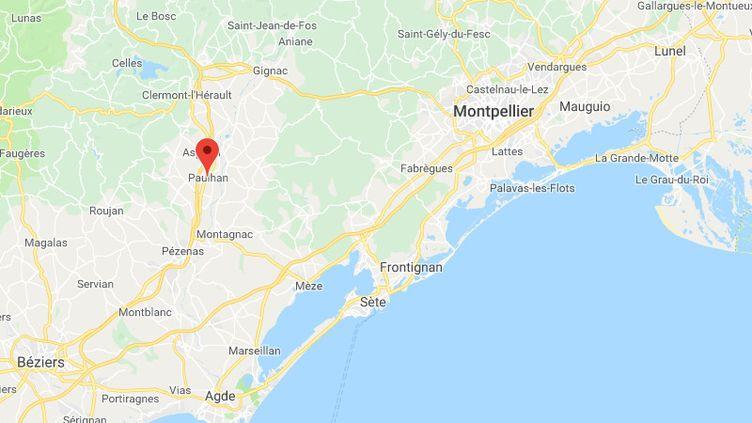 Plusieurs jeunes ont lancé des pierres et des morceaux de bois, le 22 avril, sur la gendarmerie de Paulha, près de Montpellier(Hérault). (GOOGLE MAPS)