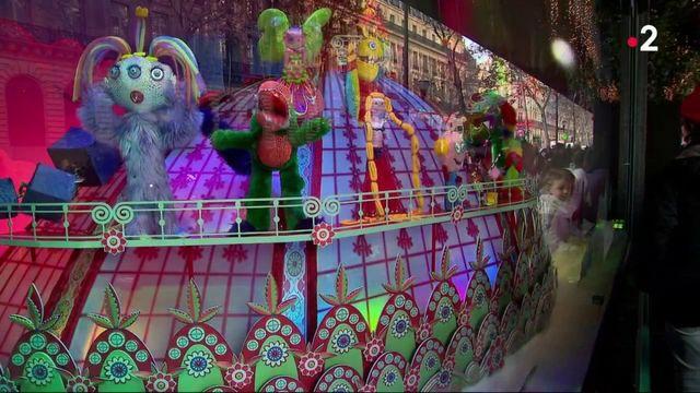 Noël : la magie des vitrines des grands magasins