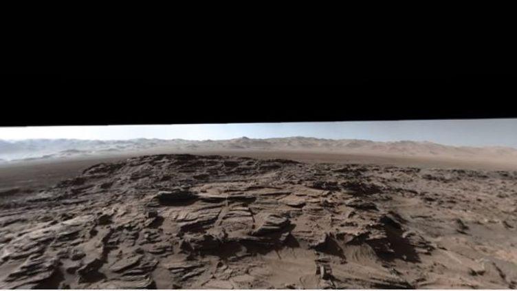 La surface de Mars photographiée le 4 avril par le robot Curiosity (NASA JET PROPULSION LABORATORY / YOUTUBE)