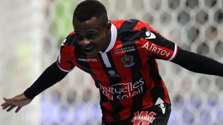 Le joueur de l'OGC Nice, Jean-Michaël Séri (VALERY HACHE / AFP)