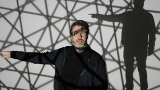 L'artiste Olafur Eliasson à la fondation Vuitton, janvier 2015  (Francois Mori/AP/SIPA)
