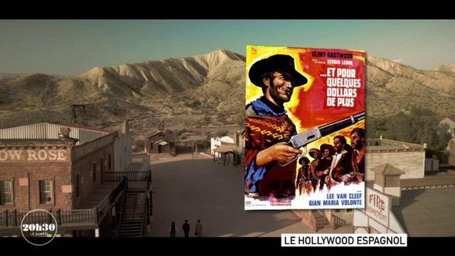 """VIDEO. Espagne : quand il était """"normal"""" de croiser Clint Eastwood au coin d'une rue de Mini Hollywood dans le désert de Tabernas"""