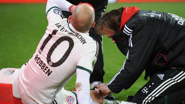 Le joueur du Bayern Munich Arjen Robben
