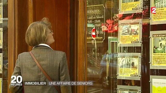 Immobilier : l'engouement des seniors