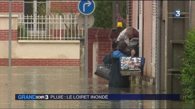 Inondations : le Loiret en alerte rouge