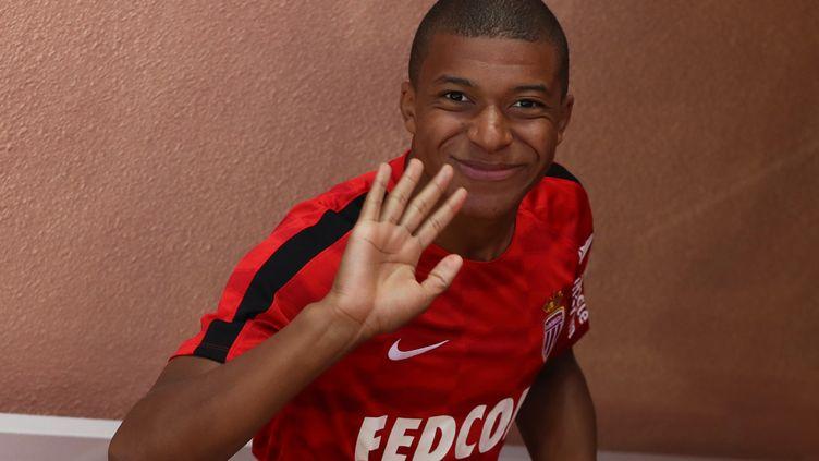 Kylian Mbappé quitte l'AS Monaco pour le Paris Saint-Germain. (VALERY HACHE / AFP)