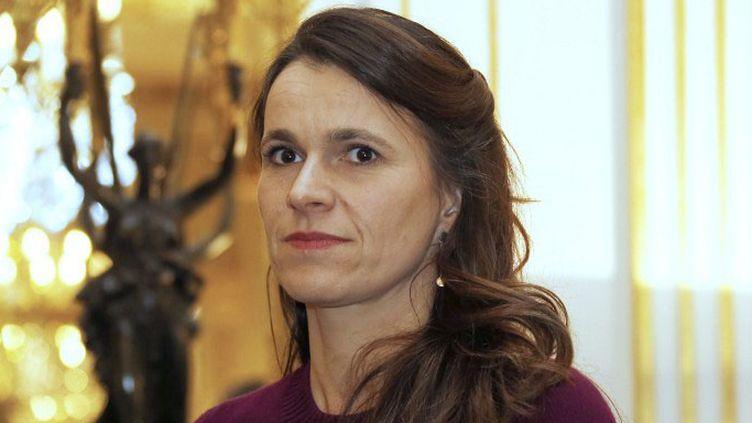 La ministre de la Culture et de la Communication Aurélie Filippetti (février 2014)  (THOMAS SAMSON / AFP)