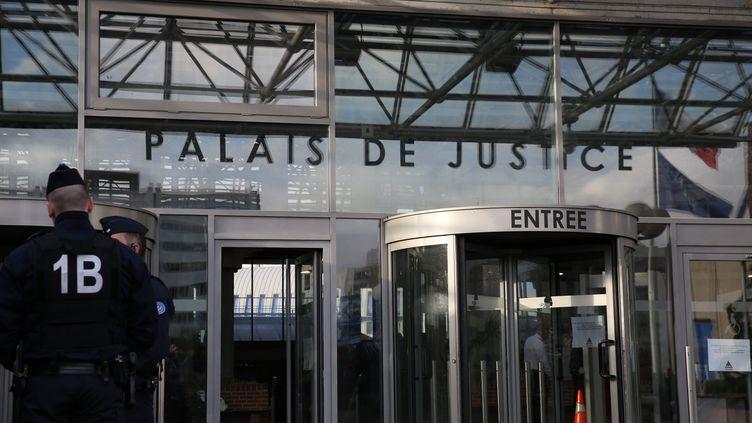 La façade du tribunal de grande instance de Bobigny, en Seine-Saint-Denis. (MAXPPP)