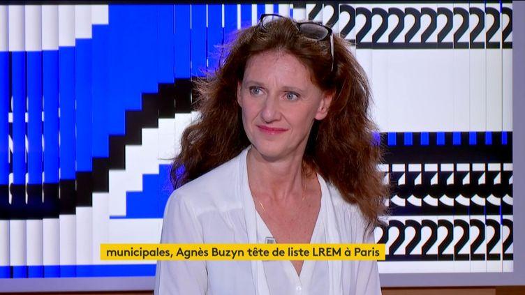 Élise Fajgeles (LREM), conseillère du 10e arrondissement de Paris. (FRANCEINFO)