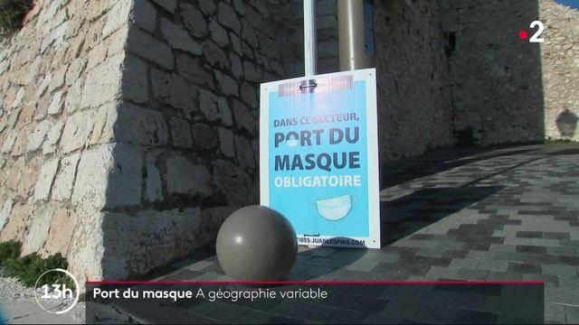 Antibes : le port du masque n'est pas obligatoire dans certains quartiers