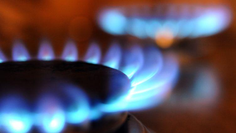 """Les tarifs du gaz devaient augmenter de 5% en juillet, mais le gouvernement songe à les bloquer, révèlent """"Les Echos"""" le 1er juillet 2012. (FRED TANNEAU / AFP)"""