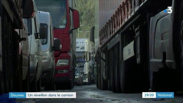 Douvres : certains chauffeurs routiers passeront Noël dans leur camion