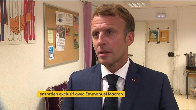 """INTERVIEW EXCLUSIVE. A Marseille, Emmanuel Macron plaide pour des """"projets concrets"""" pour la deuxième ville de France"""