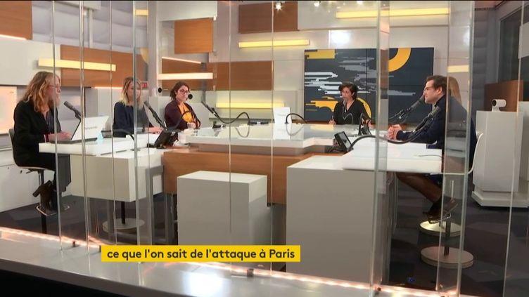 Les Informés de franceinfo présenté par Neïla Latrous, vendredi 25 septembre. (FRANCEINFO / RADIOFRANCE)