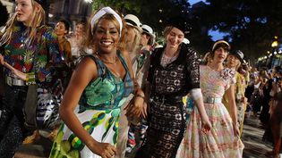 Défilé Chanel à La Havane le 3 mai 2016  (Alejandro Ernesto/SIPA)