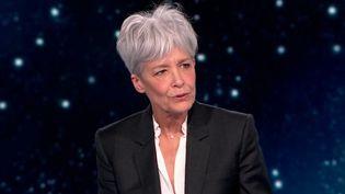 """Départ de Thomas Pesquet : """"c'est une aventure extraordinaire"""" salueClaudie Haigneré,première astronaute française (FRANCE 2)"""
