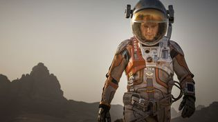 """Matt Damon, dans """"Seul sur Mars""""  (2015 Twentieth Century Fox)"""