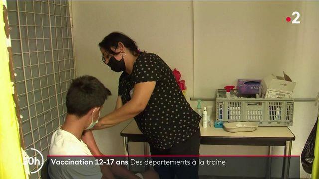 Covid-19 : certains départements à la traîne dans la vaccination des 12-17 ans
