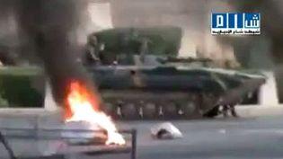Syrie : l'armée a donné l'assaut dimanche à Hama tuant au moins 100 civils parmi les manifestants. (AFP)