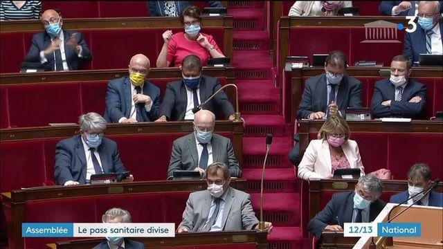 Le pass sanitaire divise l'Assemblée nationale