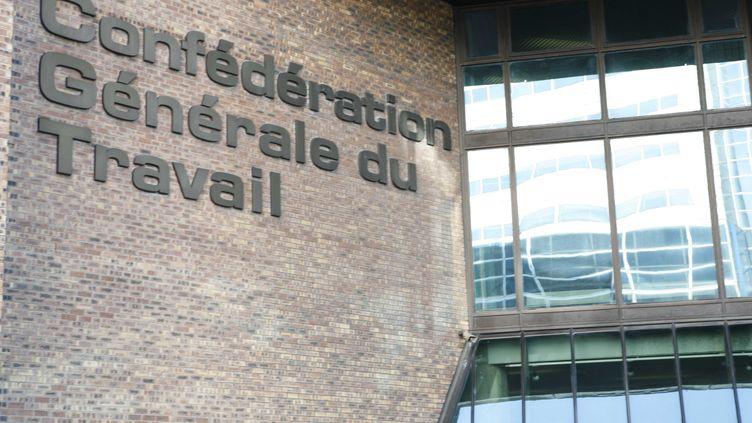 Le siège de la CGT à Montreuil, en Seine-Saint-Denis. Un audit commandé par Dominique Voynet épingle certains élus CGT du comité des œuvres sociales, le 9 décembre 2011. (PELE GWENDAL / SIPA)