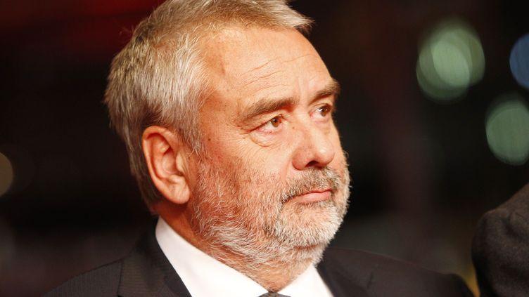 Le réalisateur Luc Besson au festival de cinéma de Berlin (Allemagne), le 18 février 2018. (MICHELE TANTUSSI / AGF / SIPA)