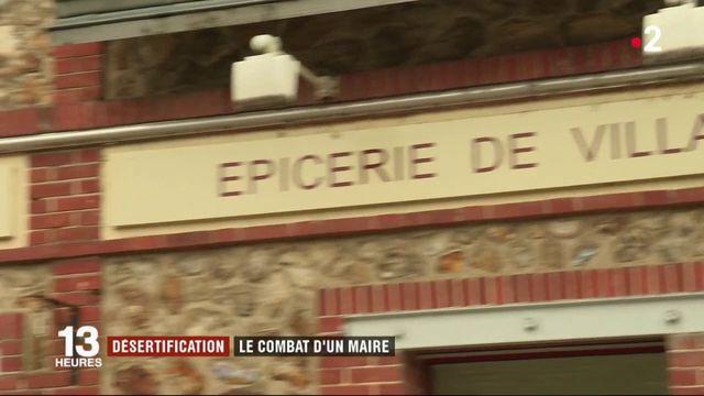 Eure-et-Loire : le combat d'un maire contre la désertification