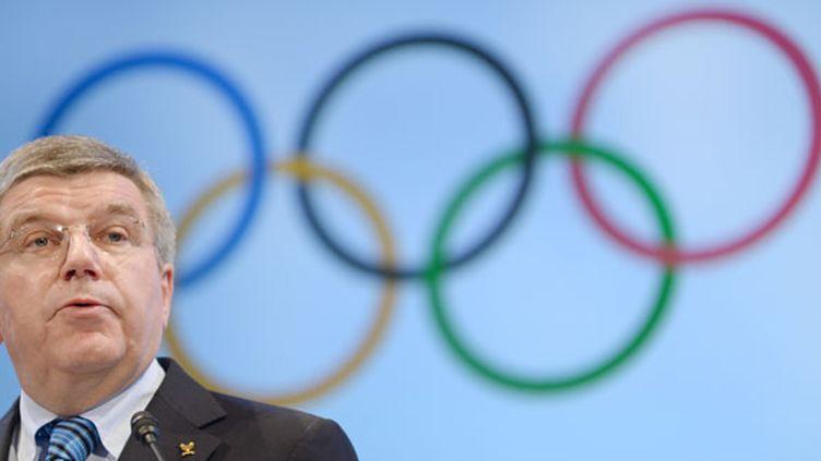 Le président du CIO Thomas Bach