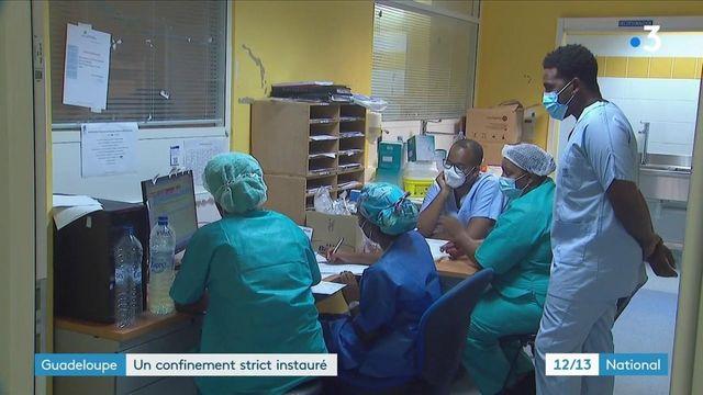 Guadeloupe : la situation sanitaire de plus en plus tendue
