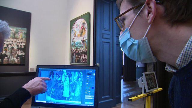 Nouvelle technologie études de tableaux musée de Picardie