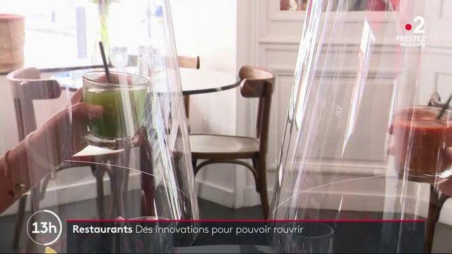 Déconfinement : l'innovation vient au secours des restaurateurs