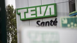 L'usine de conditionnement des laboratoires Teva, à Sens (Yonne), le 10 juin 2013. (FRED DUFOUR / AFP)