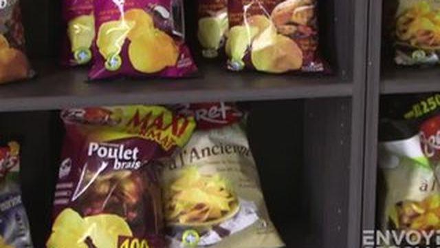 Envoyé spécial : Les étonnants secrets de fabrication de la chips goût barbecue