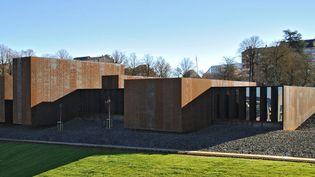 Le musée Soulages à Rodez sera inauguré le 30 mai 2014  (photothèque du Grand Rodez, photo Cédric Méravilles)