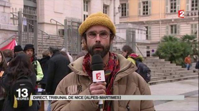 Migrants : Cédric Herrou condamné en tant que passeur de la frontière franco-italienne