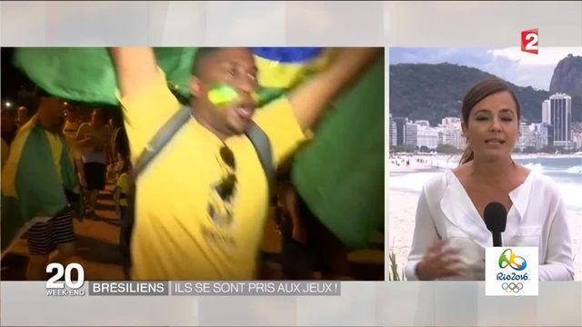 JO 2016 : la ferveur progressive des Brésiliens