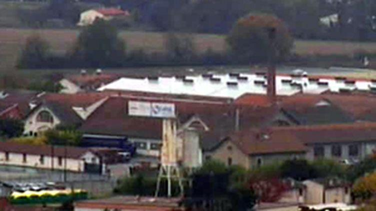 L'usine de Molex en Haute-Garonne. (© France 2)