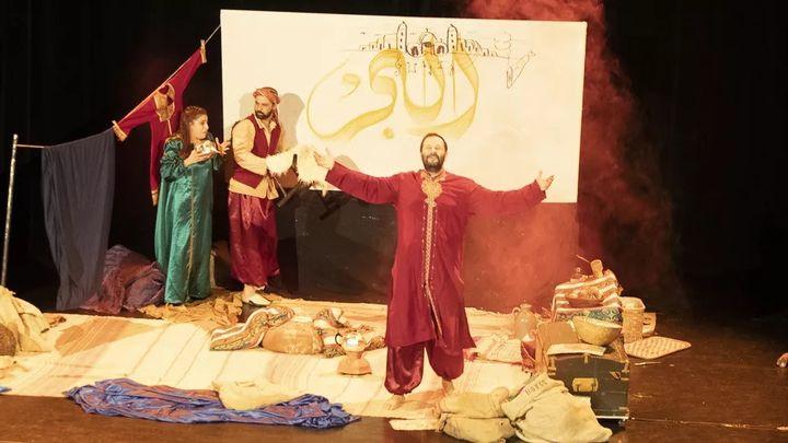 Simbad, l'histoire d'un héros par le Théâtre du Kalam (2020). (Théâtre du Kalam)