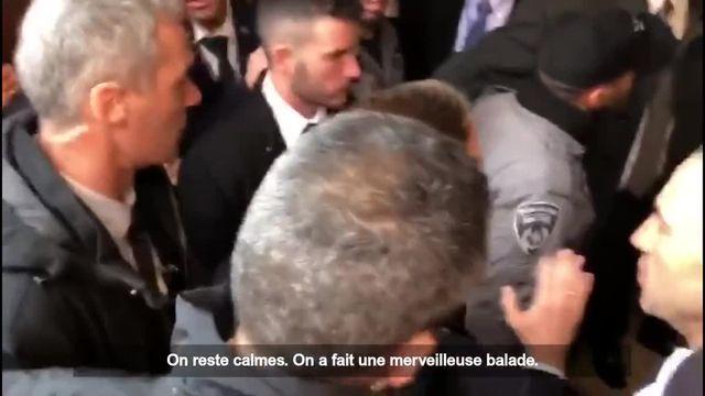 Macron israel sous titré