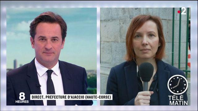 Corse : Emmanuel Macron participe à l'ultime grand débat