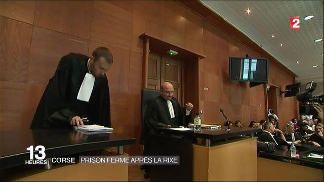 Rixe de Sisco : du sursis et de la prison ferme pour les cinq prévenus