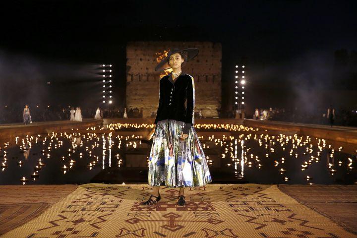 Collection Dior croisière 2020 à Marrakech, le 29 avril 2019 (DIOR)