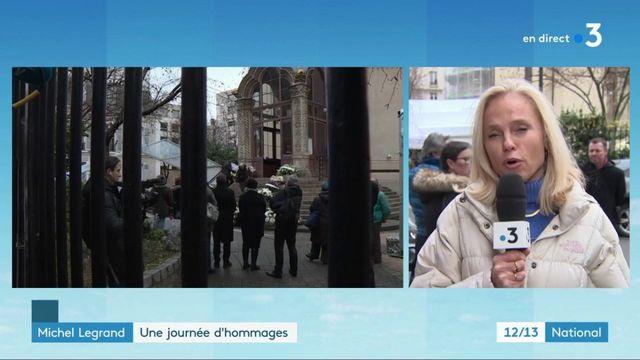 Michel Legrand : une journée d'hommages à Paris