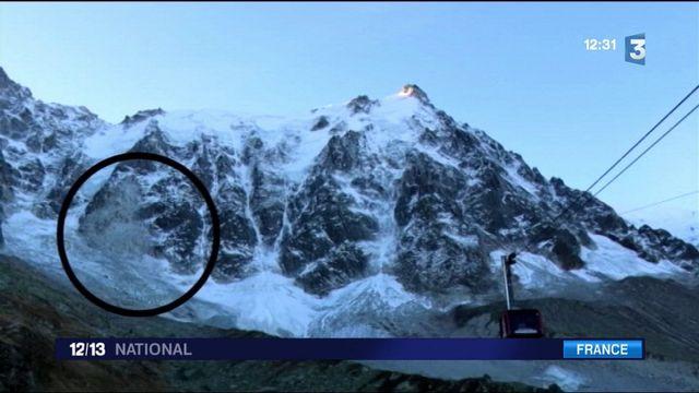 Alpes : des éboulements fréquents en période de dégel