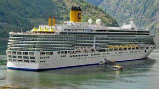 Les passagers du bateau de croisière n'ont pas été autorisés à débarquer à Marseille (Bouches-du-Rhône). (France 2)