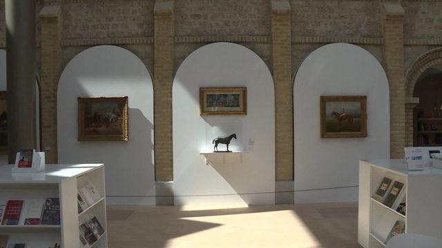 Deauville: exposition expo hommage au couple Romanet