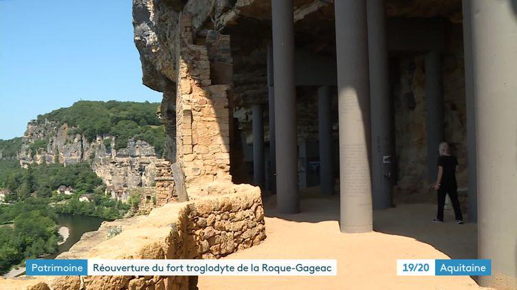 Le fort de La Roque-Gageac, Dordogne (France 3 Aquitaine)