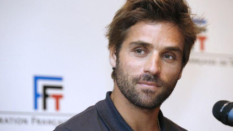 Arnaud Clément, capitaine de l'équipe de France en Coupe Davis