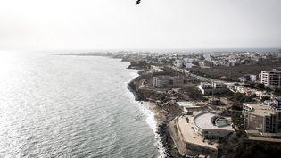 Lacorniche de Dakar (Sénégal), le 27 juin 2020. (JOHN WESSELS / AFP)